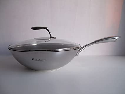 Tupperware Chef Serie Gourmet de Line - Sartén de wok 30 cm 4,2L P ...