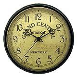 Geneva 9-Inch Plastic Wall Clock