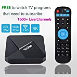 2019 World IPTV Box Receiver Player with Lifetime Subscription Prepaid for Over 1600+