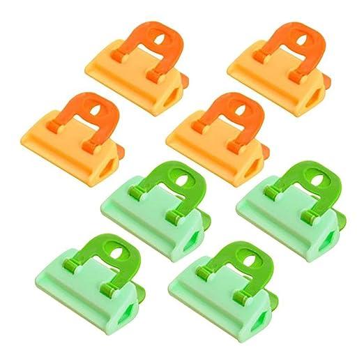 Clips de Sellado, Pinzas de plástico de Colores Brillantes ...