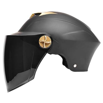 Lightweight Motorcycle Helmet >> Amazon Com Ysayc Lovers Motorcycle Helmet Open Face Outdoor