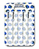 TooLoud Blue Tang Fish AOP Luggage Tag Dual Sided All Over Print