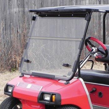 Windshield, Club Car Golf Cart 82-99, Fd, Clear, Imp Mod