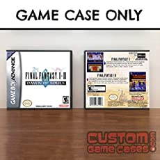 Gameboy Advance Final Fantasy I & II: Dawn of Souls - Case