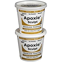 Apoxie Sculpt 4 Lb., Two-Part Modeling Compound - Natural by Aves