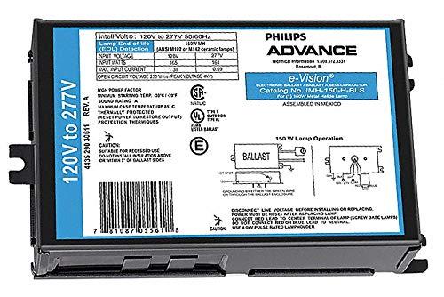Advance Metal Halide HID Ballast, 150 Max. Lamp Watts, 120-277 V, Pulse Ballast Start Type - 1 Each