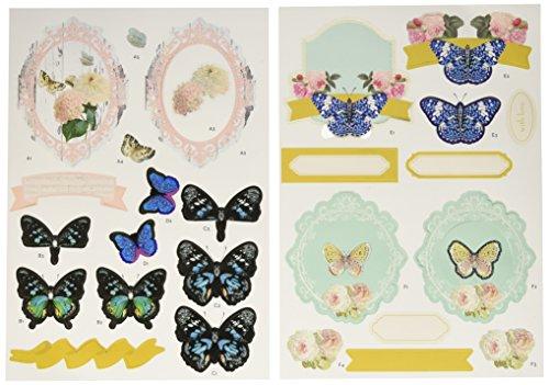 Ruby Lurch-It Fundamentals 3D Decoupage Pack, Butterflies