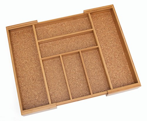 Lipper International 8874 Bamboo Wood Expandable to 22-1/2