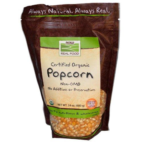 Now Foods Popcorn Organic Pack
