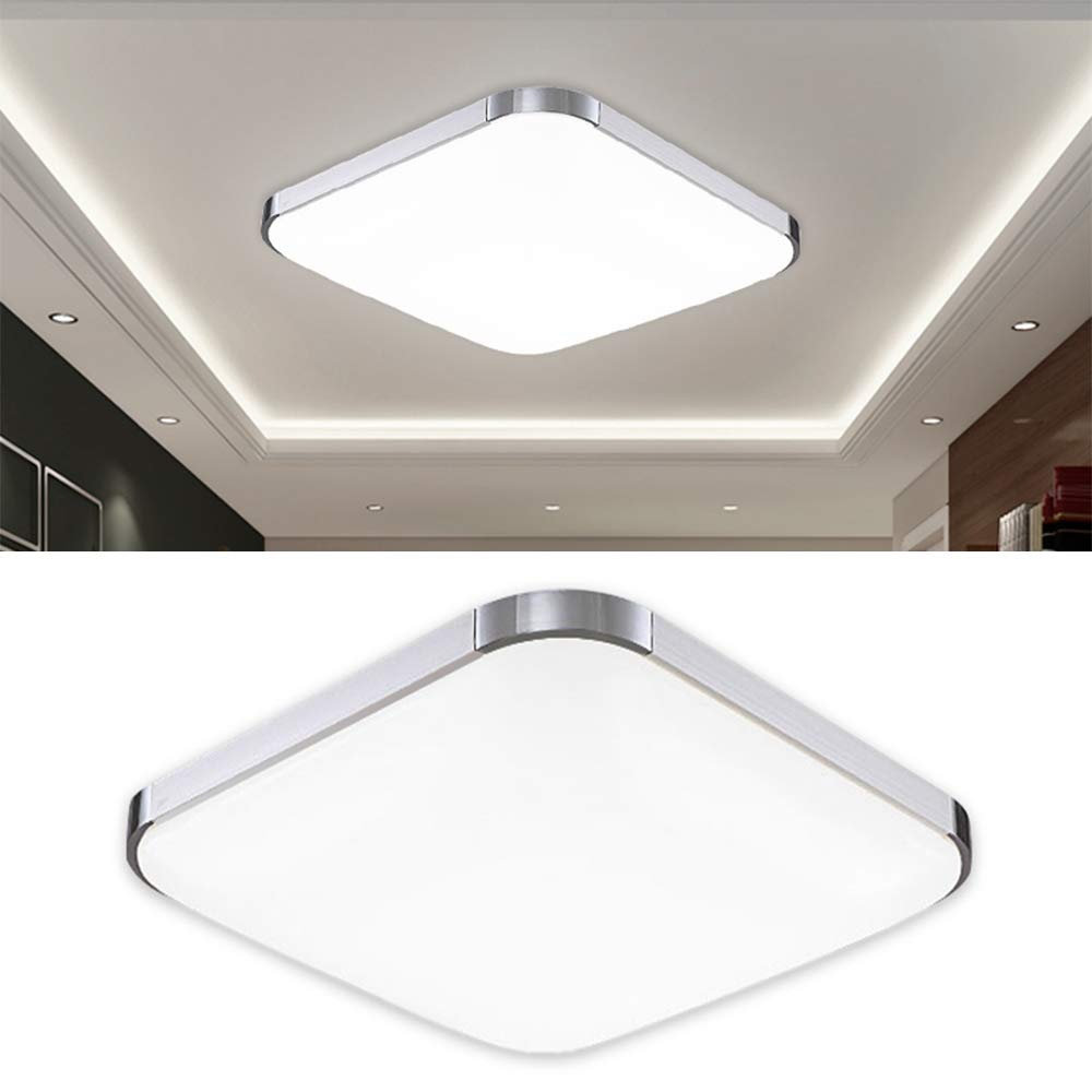 Hengda 12w led ceiling light modern cool white6000k 6500k ceiling lamp for bathroom bedroom stair well and hallway energy class a