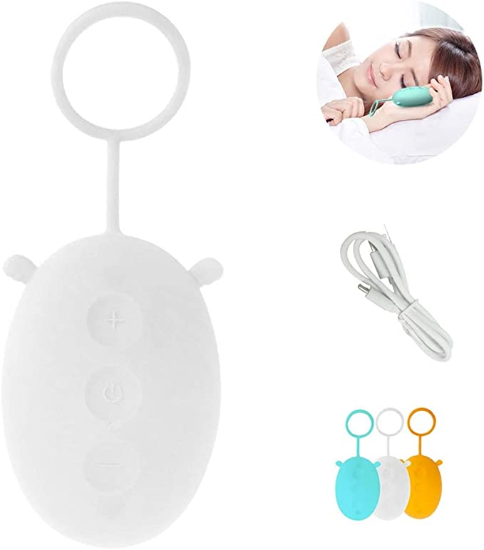 Amazon.com: ZhanMazwj Microcurrent Sleep Holding Sleep Aid Instrument Pressure Relief Sleep Device Hypnosis Instrument Massager and Relax USB Charging SMY0313 (Color : White): Home & Kitchen