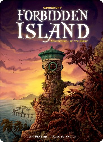 Forbidden Island Game Set - Includes 5 Bonus Dice!