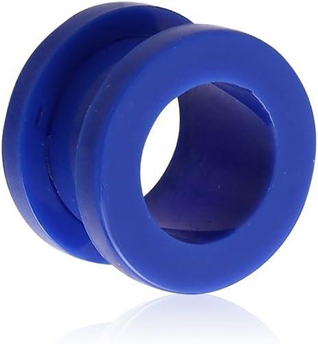 6 Sizes Ear Stretcher Neon Sadle Plug 8 Colours