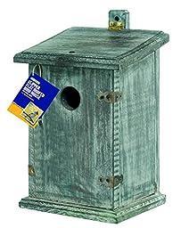 Gardman BA02046 Clipper Bird Nest Box Flat Roof, 6.75\