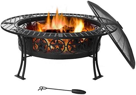 Sunnydaze Four Star Fire Pit Table