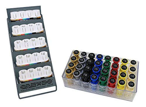 CanDo 10-3840 Digi-Flex Multi Small Clinic Pack, Deluxe, 5 Bases Plus 32 Button Sets in Case with Rack by Cando
