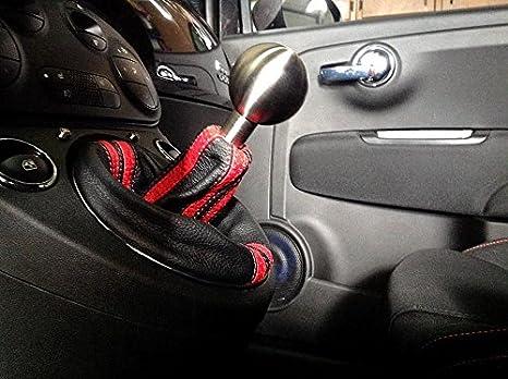 Amazon.com: Fiat 500 Abarth 2008-15 bota/funda para palanca de cambios (Abarth) de RedlineGoods: Automotive