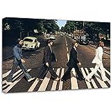 Beatles Abbey Road Canvas Art Print Poster