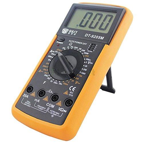 Dt9205m 3 1/2 Ac/dc LCD Electrical Digital Multi-meter Volt Amp Ohm Tester