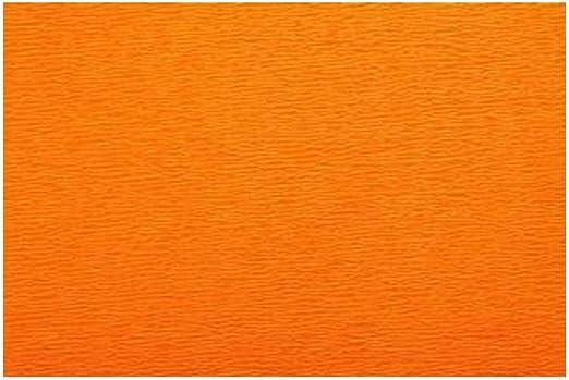 Rollo De Papel Crepé Extra Fino 2 12 Oz Color Naranja Oscuro Toys Games