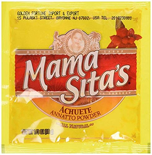 Mama Sita's Achuete Annatto Powder, 1/3oz (10g) 12 Pack