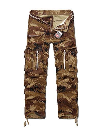 Pour As Pantalon Style Picture Homme 3 Travail Zongsen poches De Cargo Multi pxCz0Sqw