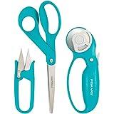 Fiskars Garment Making Starter Kit (3pc), Turquoise 3 Count