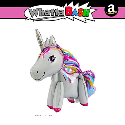 Unicorn Party Favors Supplies for Girls Essentials Accessories Gift Large Rainbow Happy Birthday Walking Unicorn Theme Balloon Decorations Kit Set Decoracion De Unicornio para Cumplea/ños Fiesta