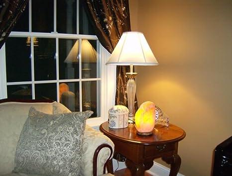 7-9 Kg Room Size 9x12Sq.ft Magic salt Himalayan Crystal Rock Salt Natural Therapeutic Pink Salt Lamp