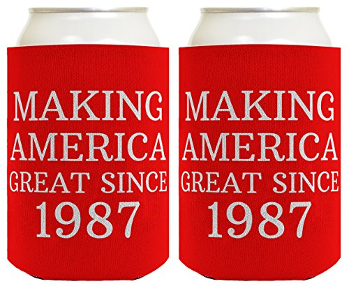 30th-Birthday-Gift-Making-America-Great-Since-1987-Can-Coolie-Drink-Coolers-Coolies