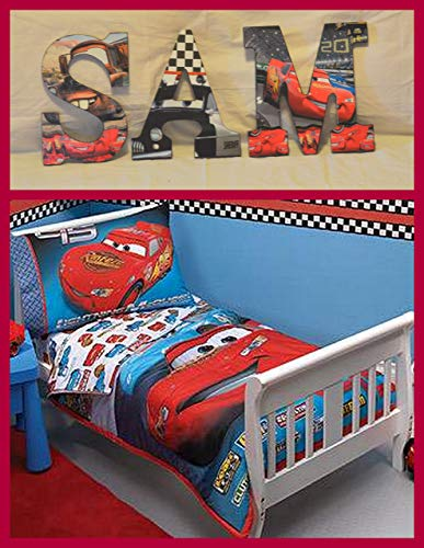 Disney Cars Inspired Wooden Letters (Décor) Anyroom