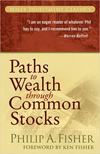 Amazon com: Paths to Wealth Through Common Stocks  (Wiley Investment