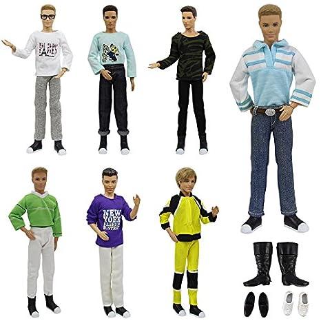 ZITA ELEMENT Vestiti Bambole Lot 6PZ   3PZ Abbigliamento Casual Wear + 3  Paia di Scarpe c06e4900c40