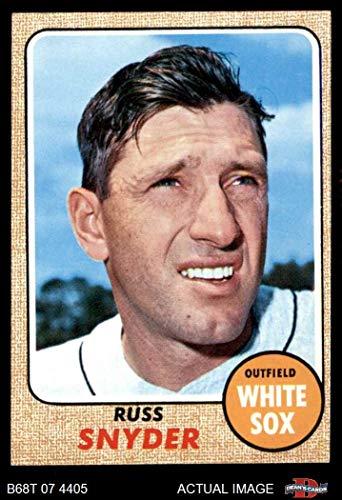 1968 Topps # 504 Russ Snyder Chicago White Sox (Baseball Card) Dean's Cards 4 - VG/EX White Sox