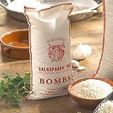 La Tienda Peregrino Brand Bomba Paella Rice (2.2 lb/1 kilo - about 4.5 cups)