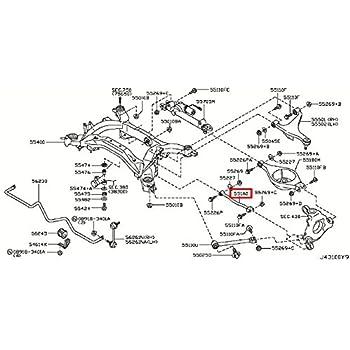 Amazon Com Infiniti 551a0 Eg000 Suspension Control Arm Automotive