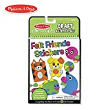Layer the felt shapes to make furry, funny, fanciful creatures...then fill the pages with your felt friends to make four colorful play scenes! Stored in a handy plastic compartment, felt sticker sheets include dozens of shapes in blue, green, pink, o...