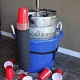 Keg Buddy Beer Keg Cup Holder - Holds Over 50 Cups