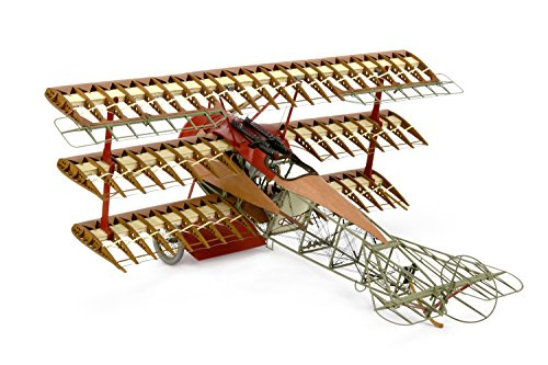 Artesania Latina 20350 1/16 Fokker DR1 Model Building (Artesania Latina Model Ships)
