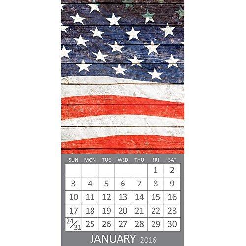 619344293872 - 2016 Mini Monthly Wall Calendar - America - Fridge Magnet carousel main 0