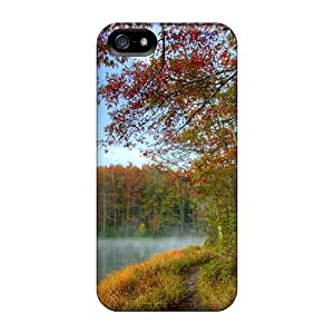 Premium GmG30764gQPA Cases With Scratch-resistant/ Babcock State Park In West Virginia Hdr Cases Covers For Iphone 5/5s