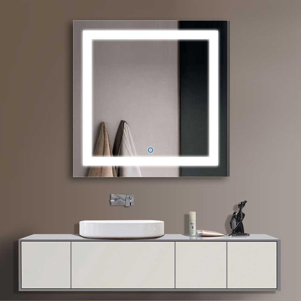 Lovely 3 Door Mirrored Bathroom Cabinet