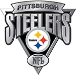 """Vinyl Sticker Decal Pittsburgh Steelers NFL Weather Resist for Windows Car Cell Phone Bumpers Laptop Wall, 11"""" x 11"""""""