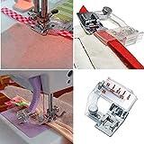 16 pcs Single/Double Fold Bias Tape Maker Tool