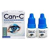 Can-C Eye Drops 2 x 5ml Vials with Eye Drop Guide