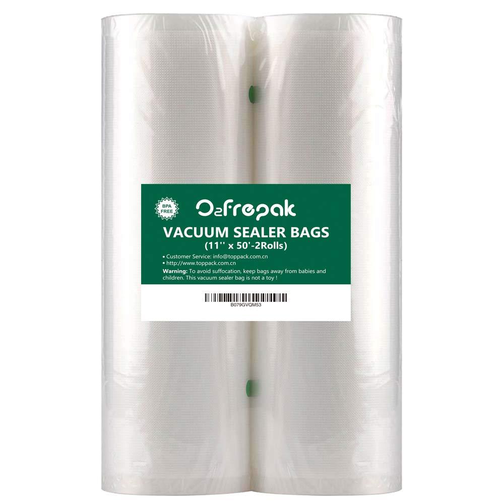 Amazon.com: Paquete de 2 rollos de sellado al vacío para ...