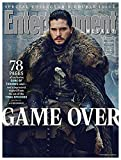 Entertainment Weekly Magazine (March 15, 2019) Game of Thrones Game Over Jon Snow Cover 2 of 16