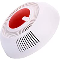 Bqqzhz Smoke Detector and Fire Alarm with Photoelectric Sensor