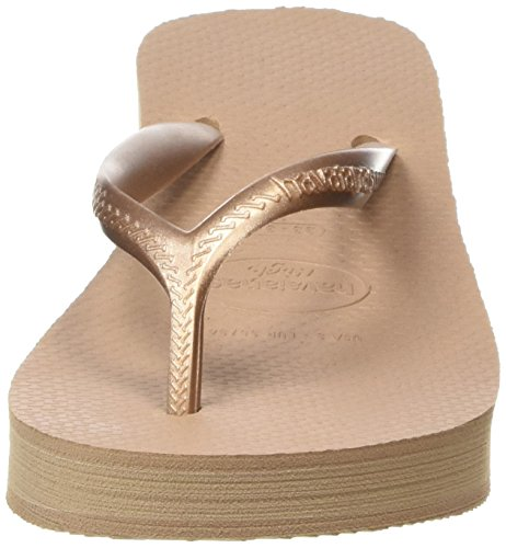 Havaianas - sandalias al dedo para mujer Beige (Rose Gold 3581)
