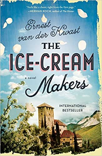 Front cover for the book The Ice-Cream Makers by Ernest van der Kwast